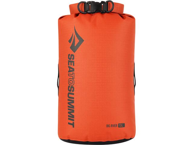 Sea to Summit Big River Sac de compression étanche 13L, orange